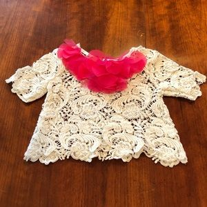 LITTLE MASS***Lace Top**18-24 mo.**$89